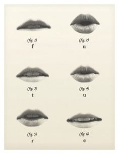 remember to put it on the lips for those who also depend on lip reading...remember that this has limited effectiveness without sign and that ASL is the native language of Deaf folks in US of A :)
