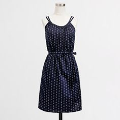 JCrew....what you do to me!!! <3  Factory belted sundress