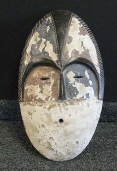 African Sculpture: Mbole Mask from 1960, Congo