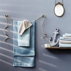 Ideas for using rope in the bathroom allow you to make your own inexpensive bathroom accessories. Towel rails threaded over cuphooks fastened to the wall or moulding add a nautical theme to a plain bathroom. - See more at: http://www.home-dzine.co.za/crafts/craft-rope-crafts.htm#sthash.UqF5KUvb.dpuf