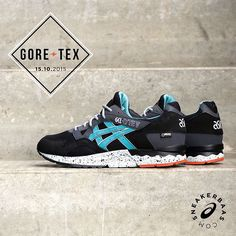 #asics #gellytev #goretex #asicsgoretex #sneakerbaas #baasbovenbaas  Asics Gel-Lyte V Gore Tex- A ''latigo'' look and feel is featured on the new Asics Gel-Lyte V. This iconic silhouette is also equipped with gore-tex technology, keeping those feet warm and dry.