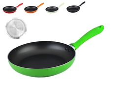 Non-stick Induction Frying Pan - GREEN. Sizes: 24cm / 26cm / 28cm