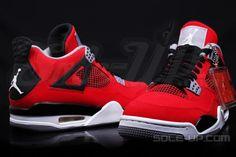 """AIR JORDAN IV RETRO 2013 - TORO RED"""