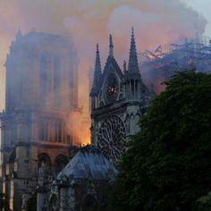 EN IMAGES. Incendie à Notre-Dame de Paris : le désastre Configuration, Ville France, Amazing Art, Cathedral, Images, Architecture, Building, Photos, Travel
