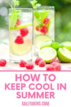 When the temperature starts to rise, you need ways to help you stay cool. From what to eat to how to get a good night's sleep, these 25 low-cost, low-tech tips will help you feel more comfortable when the summer heat gets going. Click through to find out how to keep your cool this summer! #summer #cool Stay Cool, Keep Your Cool, Summer Heat, Good Night Sleep, Garden Inspiration, Trip Planning, Gardening Tips, How To Find Out, How Are You Feeling