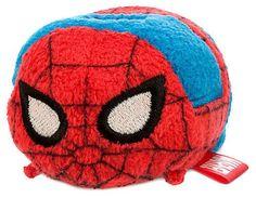 SPIDERMAN Tsum Tsum 3.5 PLUSHY Disney Store New with Tag