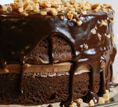After a stupid 8-5 day, I need this chocolate cake.