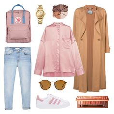 """In a nutshell"" by hutami-nadya ❤ liked on Polyvore featuring Rachel Comey, Haider Ackermann, MANGO, adidas Originals, Fjällräven, Tommy Hilfiger, Ray-Ban, lilah b. and Urban Decay"