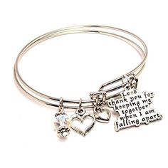 Heirloom Finds Be Still and Know That I am God Psalm 46:10 Scripture Twist Bangle Bracelet in Silver Tone