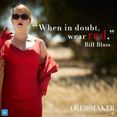 Kate Winslet, The Dressmaker // Good film, Kate is the best! Loved the humor in this. Hugo Weaving makes great supporting role. Only minus is that Liam Hemsworth is too young to play someone who went school with Tilly (Kate's character).