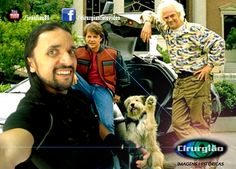 21/10/2015 - De Volta para o Futuro (Selfie)