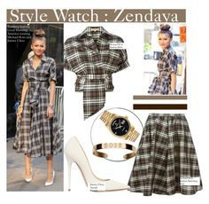 """Style Watch: Zendaya"" by nfabjoy ❤ liked on Polyvore"