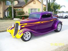 33 ford with nice colors Classic Hot Rod, Classic Cars, Ford, Weird Cars, Hot Rides, Drag Cars, Street Rods, Hot Cars, Custom Cars