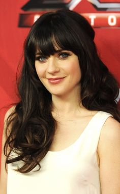 Zooey Deschanel. The fact that she can pull off those bangs, which is a hard thing to do.