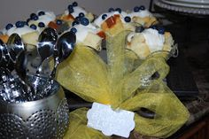 Lemon Blueberry Love. Willow House, Blueberry, Lemon, Pudding, Sweets, Cheese, Desserts, Food, Tailgate Desserts