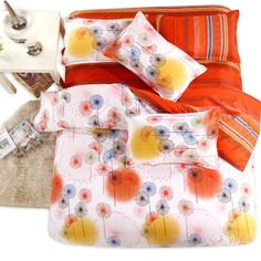 Find More Bedding Sets Information about Colorful Dandelion Bedding Sets King Queen Twin Full Size 4pcs Duvet Cover Sheet Sanding Animal housse de couette Totoro cama,High Quality sheet iron,China sheet metal hole saw Suppliers, Cheap sheet from Top Qulity Human Hair Factory on Aliexpress.com