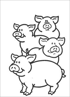 Pig Coloring Pages Preschool Coloring Pages Coloring