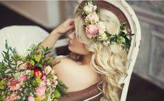 Свадебная прическа - свадебный стилист Татьяна Обухова