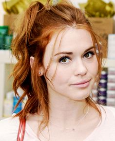 Holland Roden attends Day 1 of the LACOSTE Beautiful Desert Pool Party on April 12, 2014 in Thermal, California.