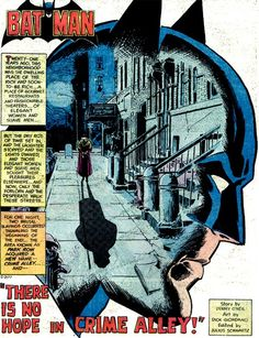 """#8. Denny O'Neil and Dick Giordano From """"There Is No Hope In Crime Alley"""" (""""Detective Comics"""" #457)  Read More: The 18 Best Batman Panels Ever 