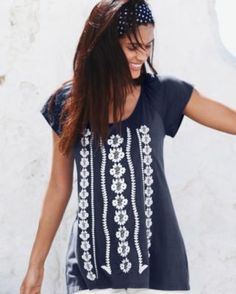 Maya Embroidered Knit Top--Oh, the things I'll never own...