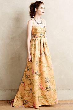Savan Jacquard Gown #anthrofave