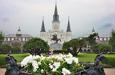Top 10 things to do in New Orleans (that   aren't Mardi Gras) Pictured: Jackson Square in the French   Quarter