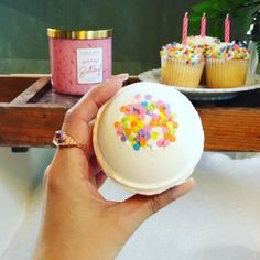 Uhmm...we are pretty sure this is what birthday dreams are made of: relaxation and a lot of sparkly surprises!#availablenow #justlaunched #linkinbio . . #CharmedAroma#SeekYourSurprise#birthday#birthdaygift#giftidea#happybirthday#bathbomb#cupcake#cupcakebathbomb#bathgoals#relaxation#birthdaycandle#sprinkles#bathart#relaxation#metime#pamperyourself#surprise#jewelry#ring#ringcandle#ringbathbomb#birthdaygirl#birthdayweekend#birthdayfun#birthdaycake#birthdaylove