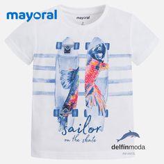 Camiseta de niño manga corta MAYORAL skates
