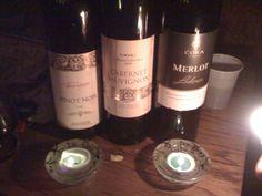 Pinot Noir, Cabernet Sauvignon & Merlot