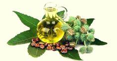 Benefícios do óleo de rícino e bicarbonato