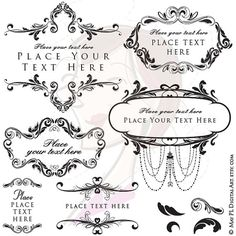 Antique Frame Clipart DIY Classic Wedding Retro Invitation Vintage Rustic Chandelier Flourish Frame Old World DIY Bridal Png Files 10021 #Classic #Wedding #Retro
