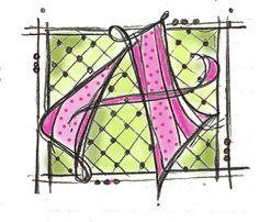 "Art du Jour by Martha Lever: Plan ""A"""