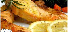 ΦΡΕΣΚΟΣ ΣΟΛΟΜΟΣ ΣΤΟ ΦΟΥΡΝΟ ΜΕ ΜΟΥΣΤΑΡΔΑ ΚΑΙ ΔΕΝΤΡΟΛΙΒΑΝΟ!!! Greek Fish, Sea Food, Fish Recipes, Biscotti, Food And Drink, Turkey, Sweets, Cakes, Chicken