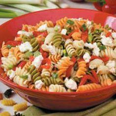 Pasta salads on Pinterest | Pasta Salad, Mexican Pasta Salads and Ita ...
