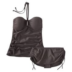 Target Mobile Site - Mossimo® Women's 2-Piece Tankini Swimsuit -Gray