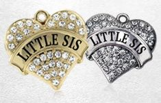 Sister Heart Jewelry @ Inspired Silver | Jewelry for Sisters