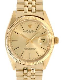 vintage gold Rolex