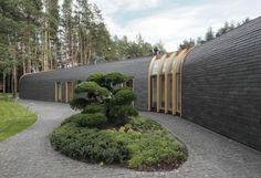 diseno paisaje moderno fachada minimalista