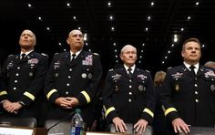 Four U.S. Army Generals stand ready to testify about sexual assaults in the military, which rose by 6% in 2012. More on Takepart.com.