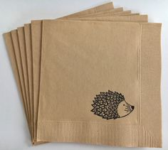 Woodland Animal Theme Hedgehog Happy Birthday Party Cocktail Napkin, Set of 50 by WithLoveAndInk on Etsy https://www.etsy.com/listing/480699451/woodland-animal-theme-hedgehog-happy