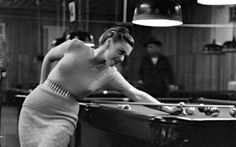 ab0fa83cee NYC pool hall 1951 Vintage Pictures, Old Pictures, Vintage Images, Vintage  Photographs,