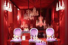 Paris : Vitrines de Noël Cristal  Baccarat