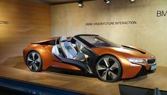 BMW i8 Spyder concept prezinta masina viitorului | iDevice.ro