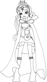 Free Printable Ever After High Coloring Pages: Madeline ...