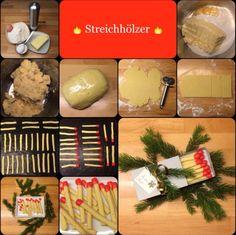 Mini-Geschenk-Tipp: *** Streichhölzer * Streichholz-Kekse *** … schnell und einfach gemacht – sehen super aus und schmecken noch besser!