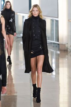 Anthony Vaccarello at Paris Fall 2015
