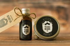 Beard Oil and Balm Combo Save on both when you buy the combo pack.  The perfect gift for the bearded man in your life.