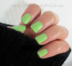 Lime nails by Essie Rae Lime Nails, Nail Polish Blog, Classic Nails, How To Do Nails, Essie, Lime Crime, You Nailed It, Nail Colors, Swatch
