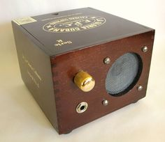Brian Csencsits' Cigar Box Amp